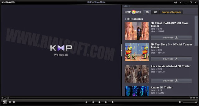 RIALSOFT.com - KMPlayer Terbaru 3.9.1.137 Full Version