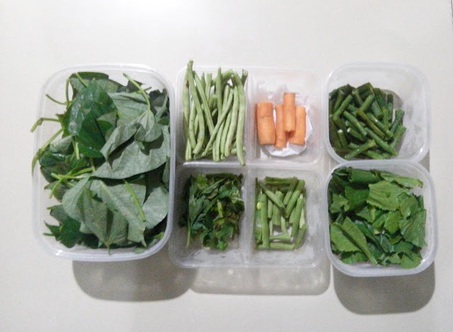 food prep atau food preparation sayur mayur