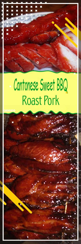 Cantonese Sweet BBQ Roast Pork Recipe