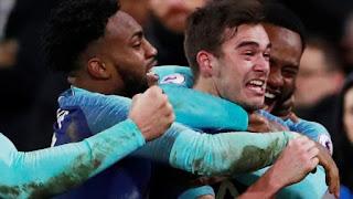 Harry Winks scored Spurs' winner in the 93rd minute