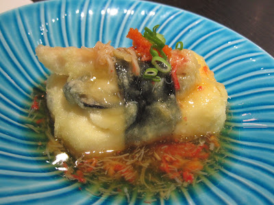 The Oyster and Crab Restaurant, agedashi tofu