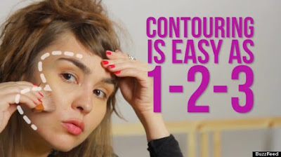 "Image result for contour face use the ""3"" shape"