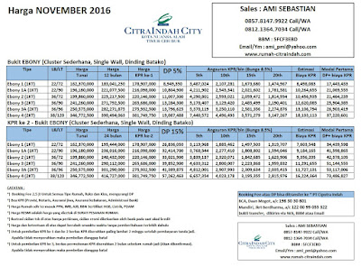 harga-bukit-ebony-citra-indah-city-november-2016