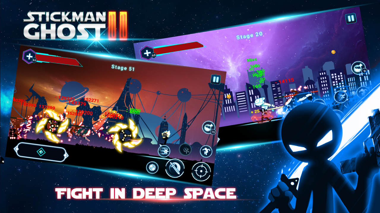 Stickman Ghost 2 Star Wars MOD APK