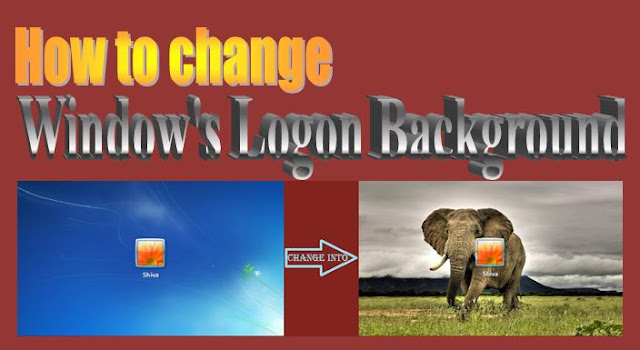Change Window's Logon Background