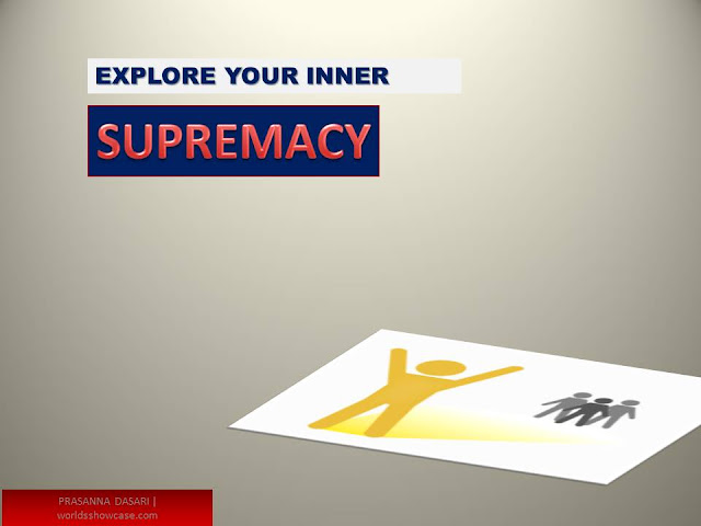 Exploring Your Inner Supremacy