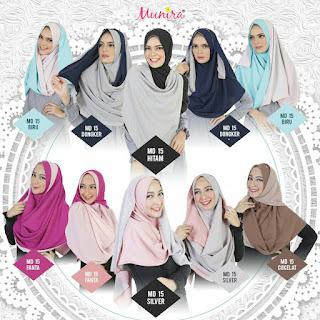 Hijab Munira MD 15 Koleksi jilbab syari terbaru dewasa