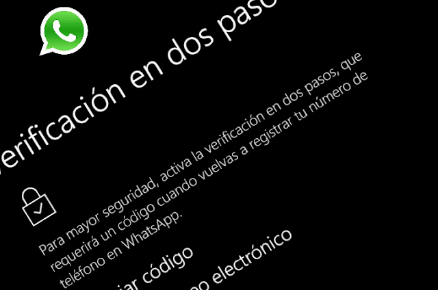 Desactivar la verificación de dos pasos en WhatsApp
