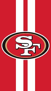 Wallpaper San Francisco 49ers red para celular gratis