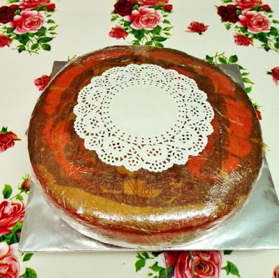 Kek Marble Klasik, Kek Butter Sedap, Kek Mentega