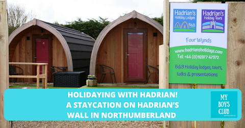 Holidaying with Hadrian! A staycation at Hadrian's Holiday Lodges on Hadrian's Wall in Northumberland (AD)