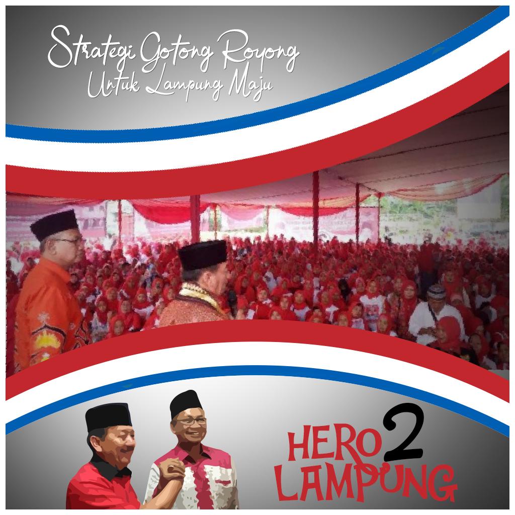 Strategi Gotong Royong Herman HN-Sutono Menang Pilgub