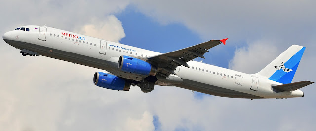 Kogalymavia A321
