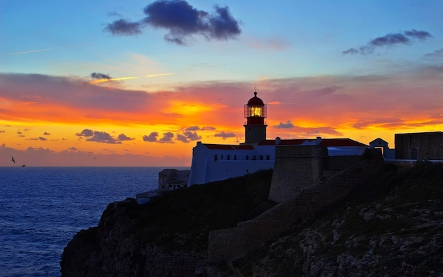 Farol do Cabo São Vicente no Algarve