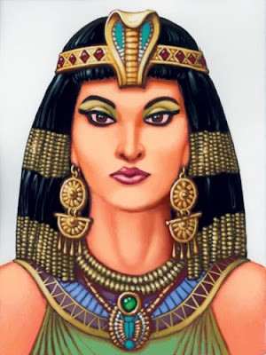 descriptive text Cleopatra dan terjemahannya