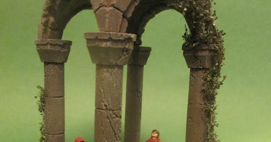 Ancient Temple from Zealot Miniatures