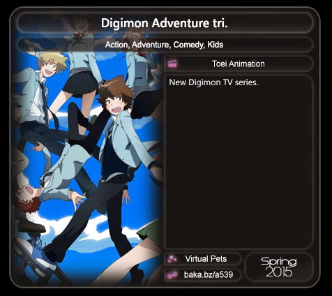 Spring 2015 Anime series | sukajepang.com