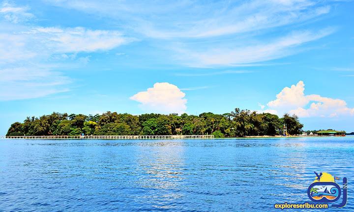 princess island atau pulau putri di kepulauan seribu uatara