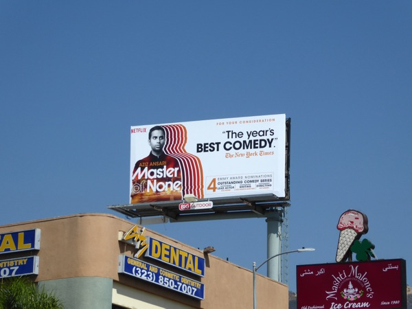 Master of None 2016 Emmy billboard