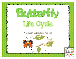 https://www.teacherspayteachers.com/Product/Butterfly-Life-Cycle-A-Science-and-Literacy-Mini-Unit-1156405