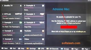 شرح تشغيل ملفات iptv علي الشاشات الذكية أو شاشات smart tv موقع سوفت سلاش