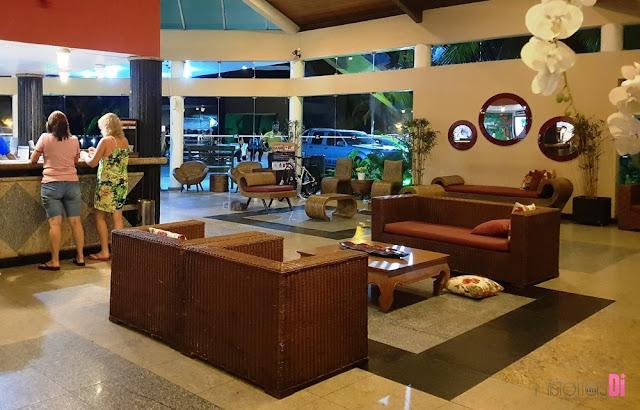 Recepção Hotel Brisa da Praia