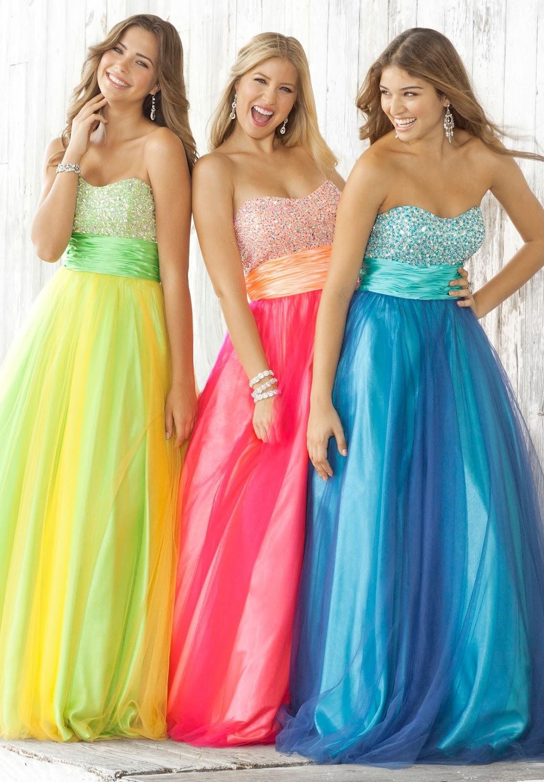 Vestidos de fiesta largos de moda 2018