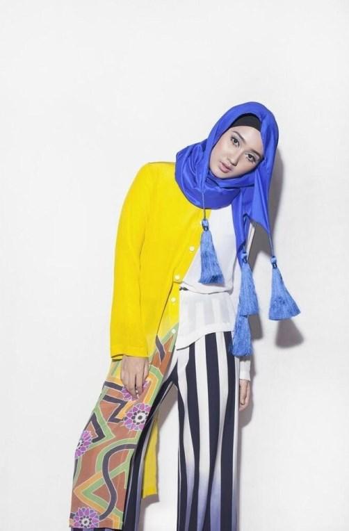 model IGO konsep foto hijab dalam ruangan dengan tips sederhana ligthing anak