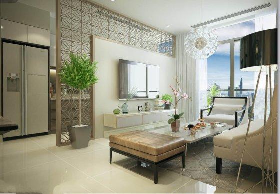 Mẫu thiết kế căn hộ Roman Plaza
