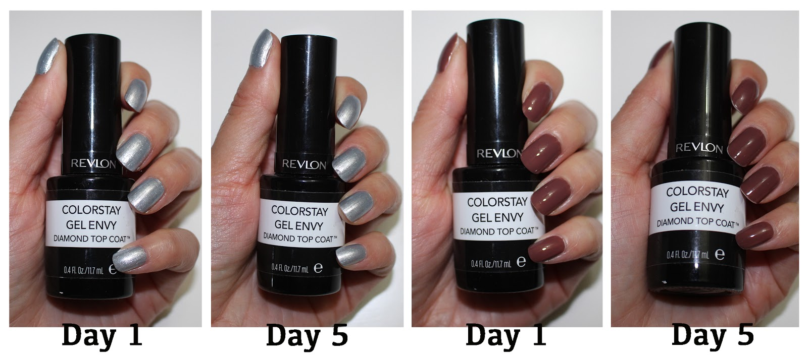 Revlon Colorstay Gel Envy Diamond Top Coat & \