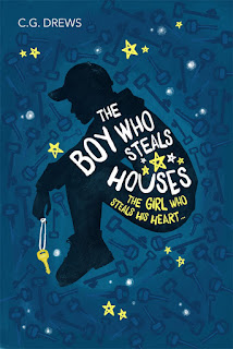 The Boy Who Steals Houses by CG Drews cover