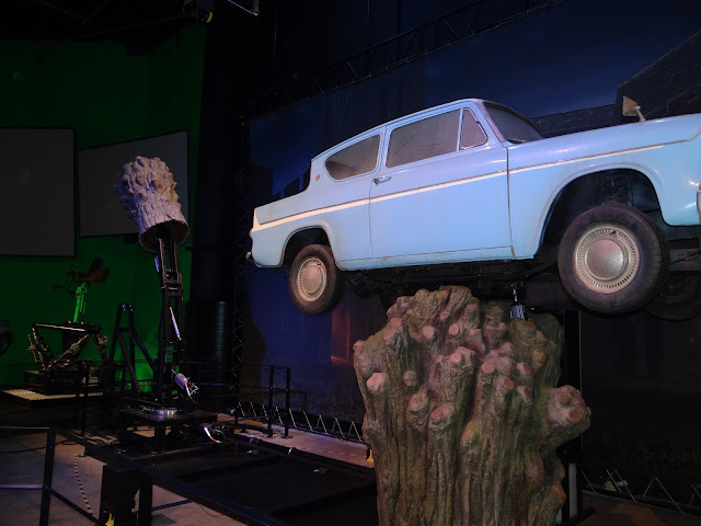 Harry Potter Studio Tour: The Womping Willow