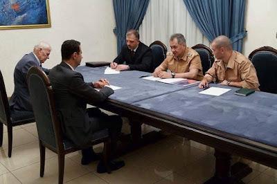 روسيا تذل بشار ذلاً لم يعرفه حاكم من قبل (7 إهانات في لقطة واحدة) :