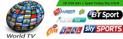Turkey UK US Canada Channels m3u8 Sport vlc | Sharing-Belge