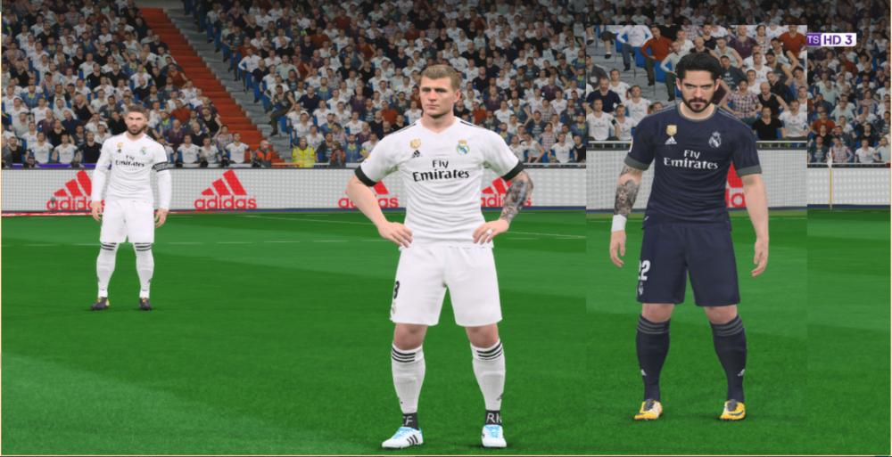 Real Madrid Kits 2018-2019 For PES 2017 by SElafify12