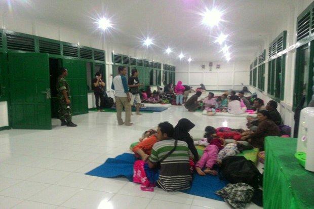 Ricuh Hasil Pilgub Kalbar di Landak, 119 Warga Mengungsi
