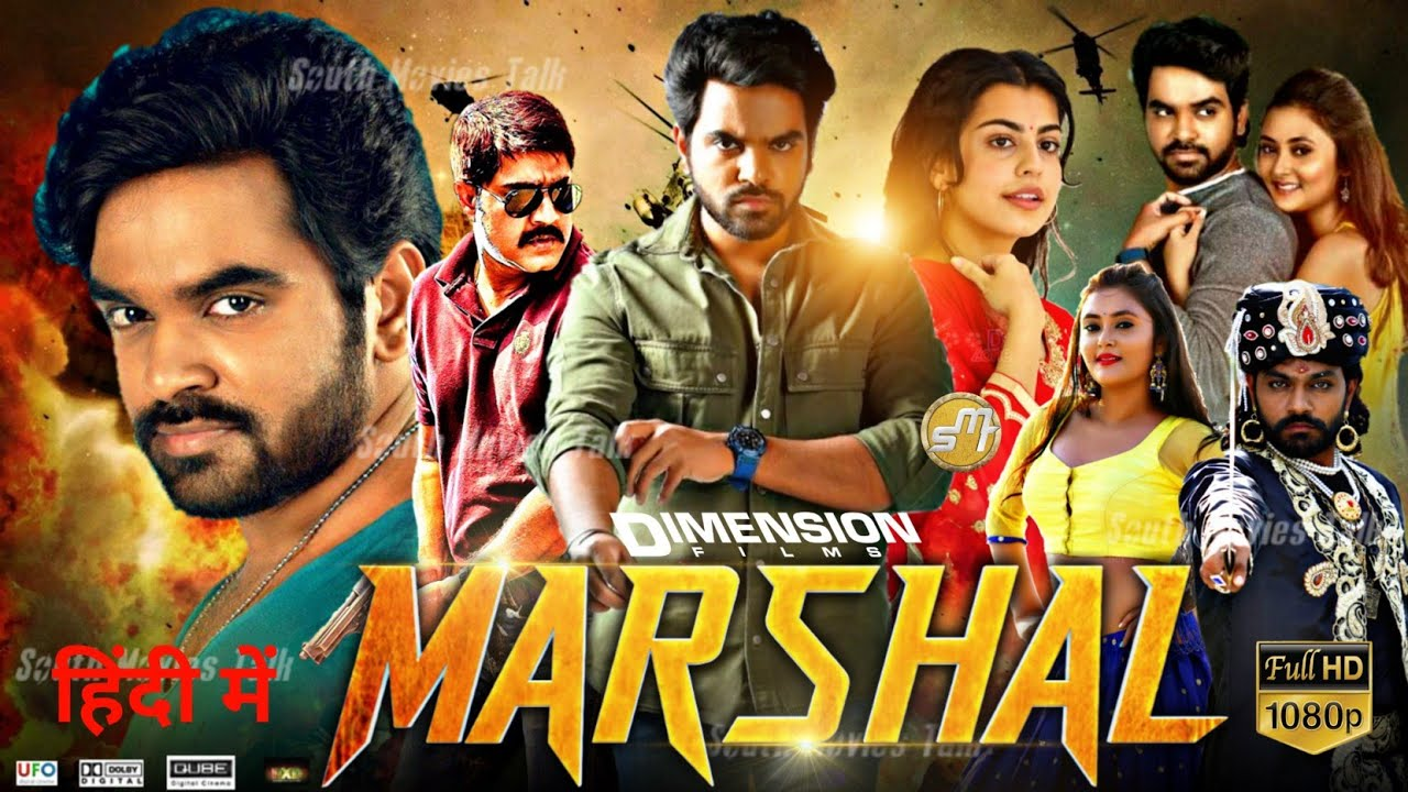 Marshal (2020) Hindi Dubbed 720p HDTVRip 800MB Free Download