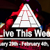 Live This Week: January 29th - February 4th, 2017