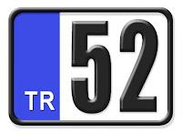 52 Ordu plaka kodu