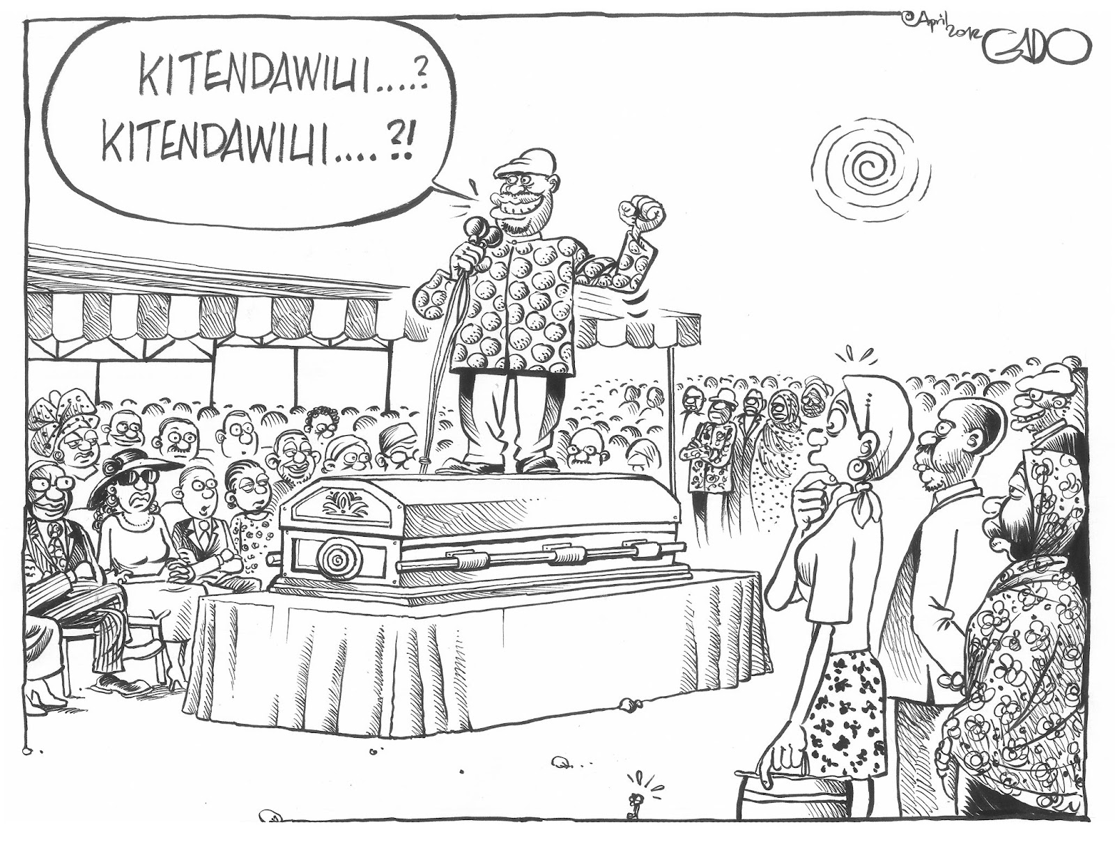 Msema Kweli: What happens in our funerals...!