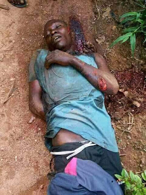 Graphic Photos: Fulani herdsmen attack villagers going for early morning prayers in Taraba community, kill nine