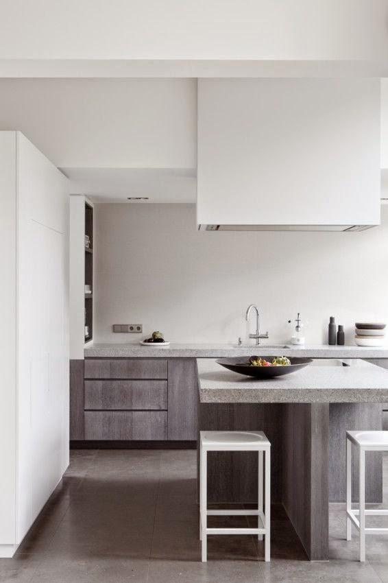 De 30 cocinas modernas peque as llenas de inspiraci n for Decoracion de cocinas modernas