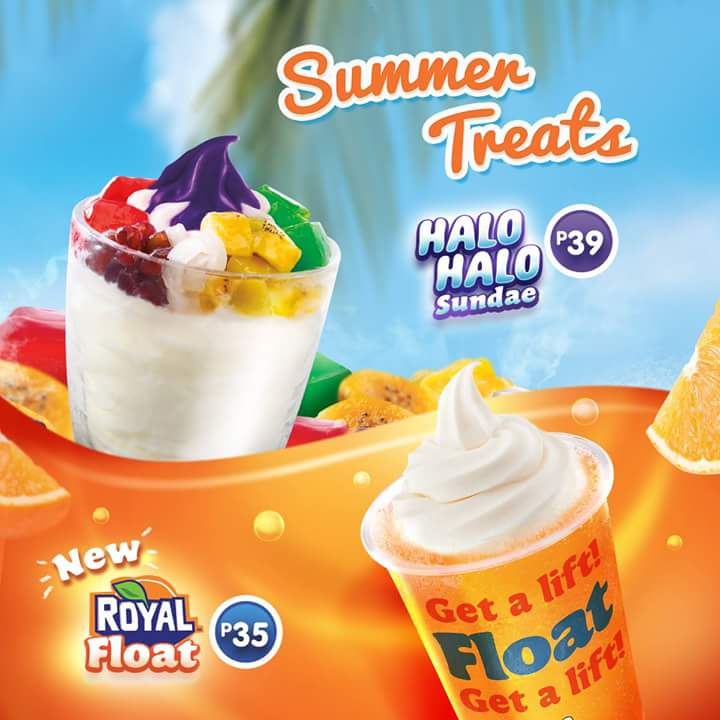 Start The Summer Right With Jollibees New Royal Float And Halo Sundae