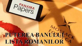 panama papers lista completa cu romanii