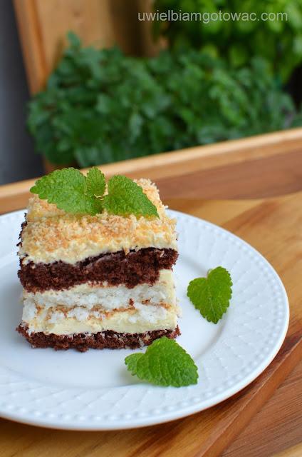 Ciasto kokosowo-czekoladowe