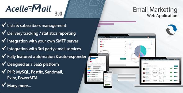 Acelle Email Marketing Web Application v3.0.15