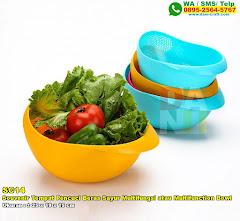 Souvenir Tempat Pencuci Beras Sayur Multifungsi Atau Multifunction Bowl