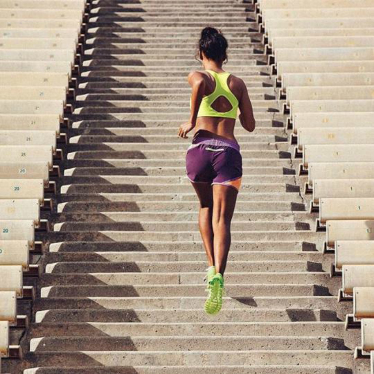 stair sprints workout