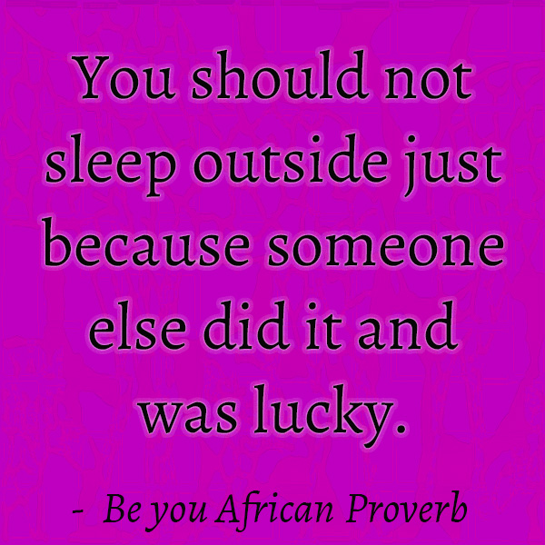 African inspirational proverb quotes for students and kids