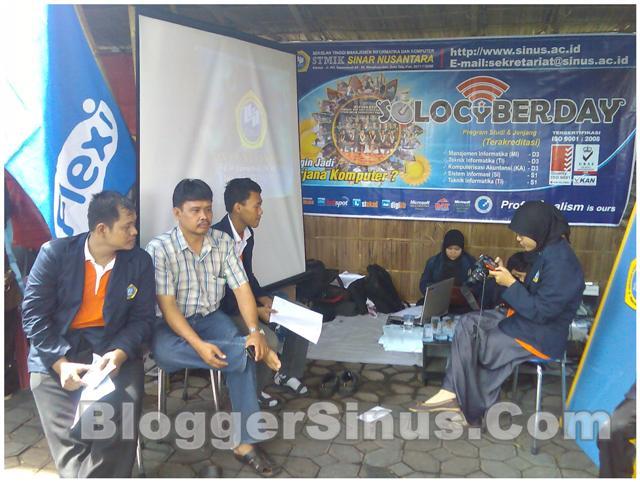 Penuh Deg-Degan saat di Solo Cyber Day 2011